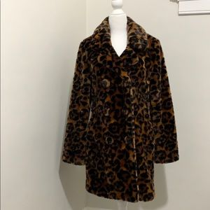 Coach 1941 Wildbeast Faux Fur coat